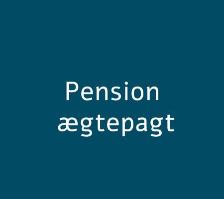 pension og ægtepagt