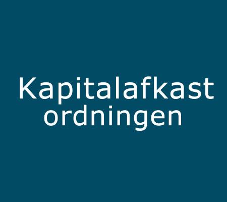 kapitalafkastordningen