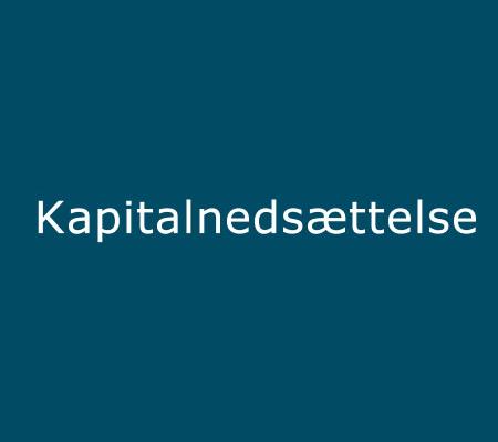 kapitalnedsættelse dansks elskab